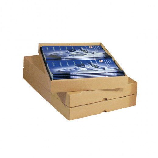 Boîte cloche 305 x 215 x 52 à 90 mm