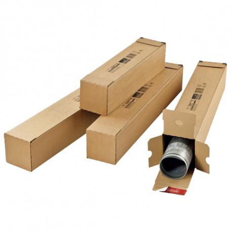 Tube d'expédition carton carré fermeture adhésive ColomPac® 108 x 108 x 430 mm