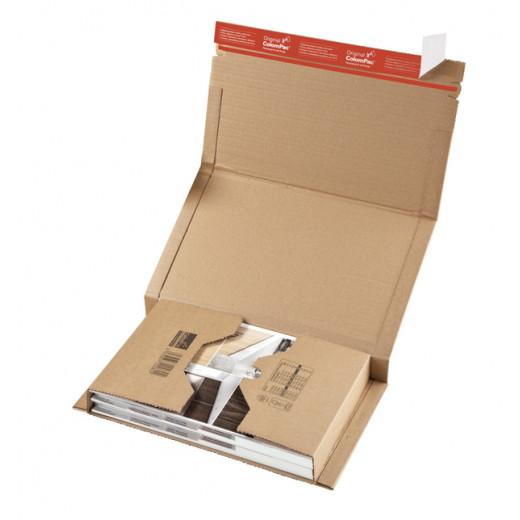 Étui postal top pac avec fermeture adhésive colompac® 147 x 126 x 0 à 55 mm