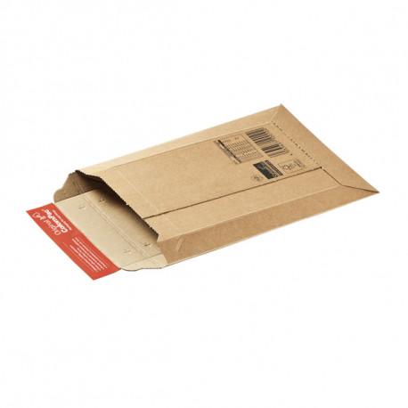 Pochette d'expédition carton ondulé fermeture adhésive ColomPac® 150 x 250 mm