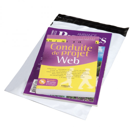 Pochette plastique indéchirable 65µ 170 x 225 mm
