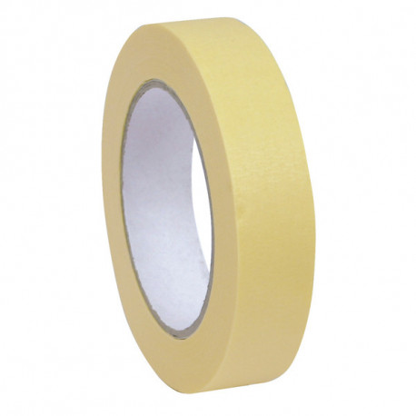 Ruban Adhesif Semi Crepe Ecru  25mm x 50m