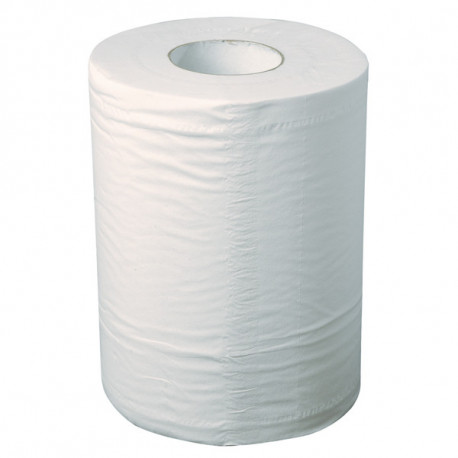 Bobine d'essuyage industriel blanche 215 x 300 mm