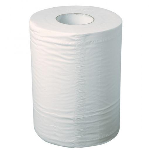 Bobine essuyage blanche 2 plis 21g - 215 x 300 mm