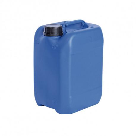 Bidon plastique bleu homologué UN 10L 192mm x 232mm x 321mm