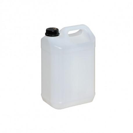 Bidon plastique naturel homologué UN 5L 186mm x 127mm x 290mm