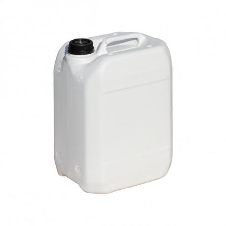 Bidon plastique blanc 10L 192mm x 232mm x 321mm