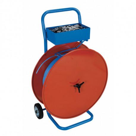 Dévidoir pour feuillard polypropylène et polyester Diam. 200 - 280 - 406 mm