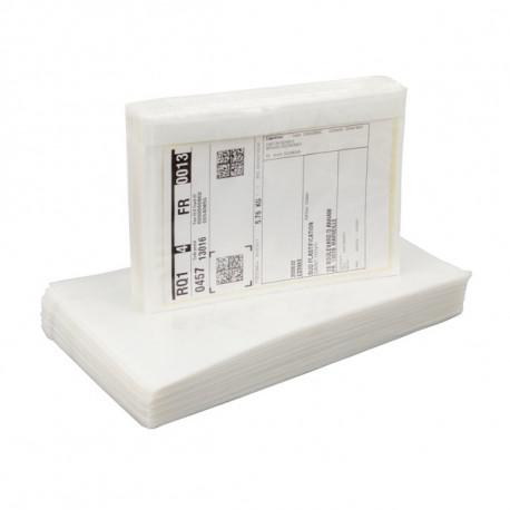 Pochettes porte-documents neutres - RENFORCEES 160 mm x 110 mm