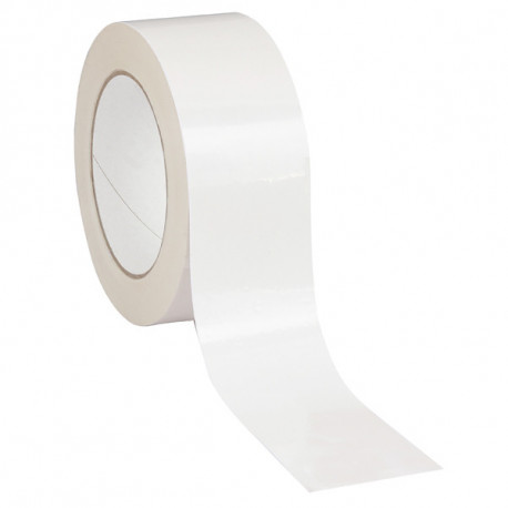 Ruban Adhésif PVC Blanc 48mm x 100m x 33µ