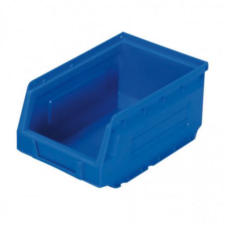 Bac à Bec plastique bleu 28L - 460 x 305 x 175 mm