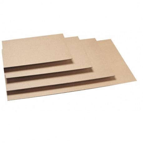 Plaque carton micro cannelure 1,5mm - 1100 x 900 mm