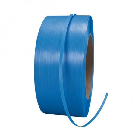 Feuillard Polypropylène Manuel et Machine - Ø 200 - 12mm x 0.55mm x 3000m - Bleu