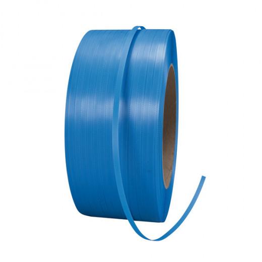 Feuillard polypropylène Manuel ou Machine - Ø 200 - 12 X 0,55 mm x 3000m - Bleu