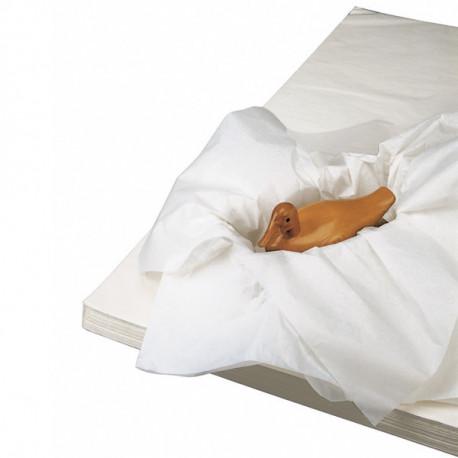 Papier mousseline blanc 20g/m² 50cm x 65cm