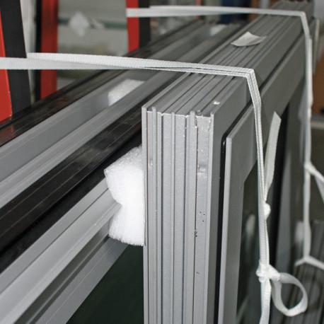 Plots mousse  adhésif permanent 100 mm x 100 mm x 25 mm - 26 kg/m3
