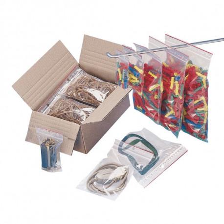 Sachet plastique MINIGRIP neutre 40 mm x 60 mm - 60µ