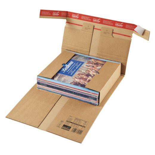 Etui postal Renfort Pac fermeture adhésive ColomPac® 230 x 165 x 0 à 80 mm