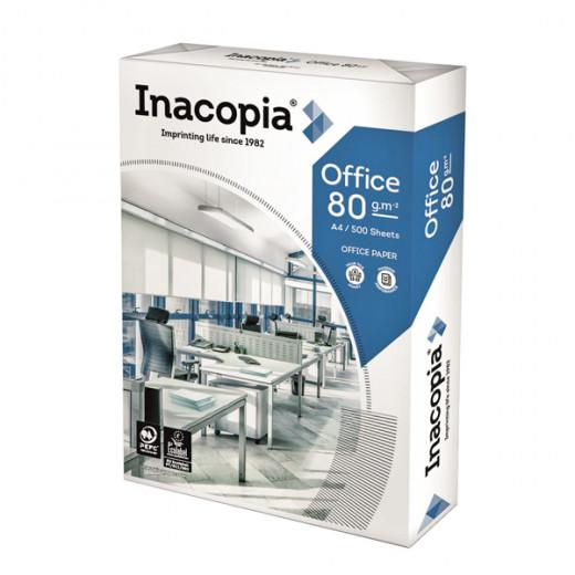 Ramette papier blanc multifonction Inacopia Office 80g A4