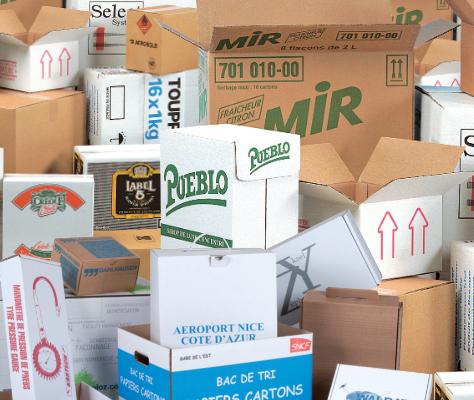 Vos emballages personnalisés